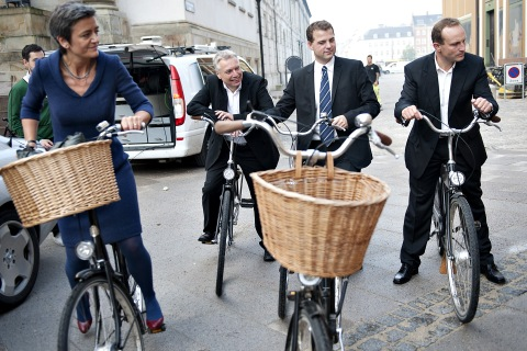 New Danish Ministers (L to R) Margrethe