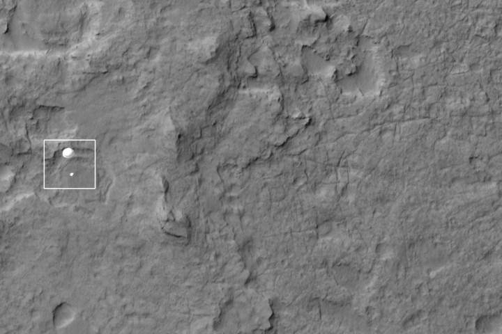 Curiosity Rover on Mars
