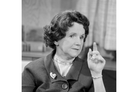 Rachel Carson Discusses 'Silent Spring'