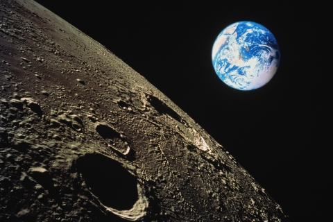 The Earth birthed the distant moon — thanks to an act of cosmic violence