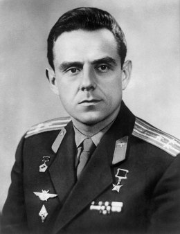 Soviet cosmonaut Vladimir Komarov