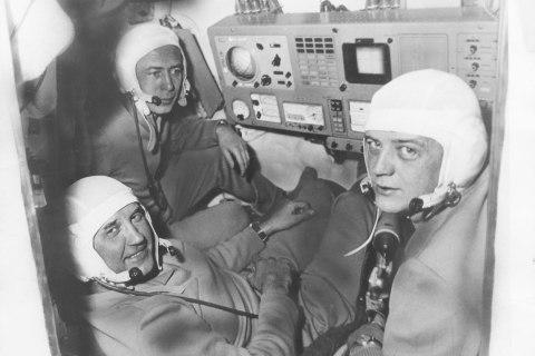 Georgi Dobrovolski, Victor Patsayev,  Vladislav Volkov