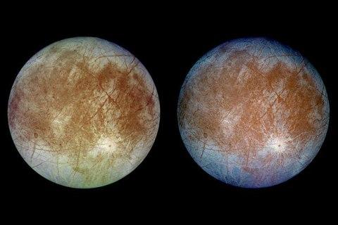 Jupiter's moon 'Europa'