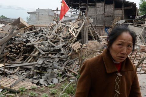 A 6.6-magnitude earthquake hit the Chinese province of Sichuan, on April 20, 2013.