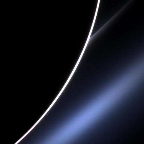 Dawn on Saturn