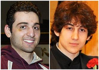 From Left: Tamerlan Tsarnaev and Dzhokhar Tsarnaev.