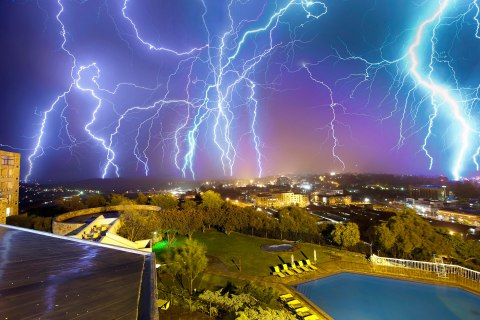 Lesotho lightning