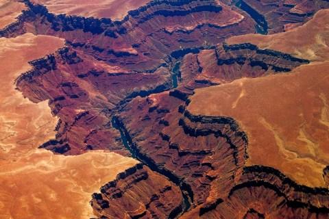 The Grand Canyon in Arizona, July 1, 2013
