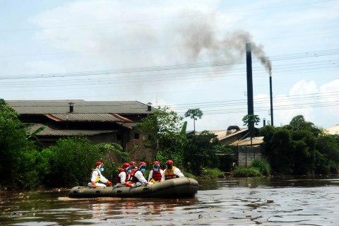 Citarum river, Indonesia