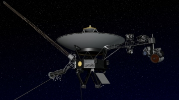 Artist rendering of NASA's Voyager spacecraft.