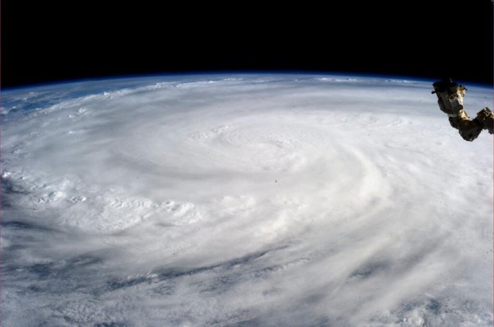 This image taken by astronaut Karen L. Nyberg shows Super Typhoon Haiyan from the International Space Station on Nov. 9, 2013.