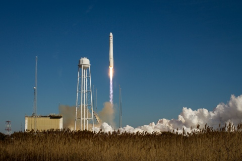 Antares Rocket Prepares For Launch