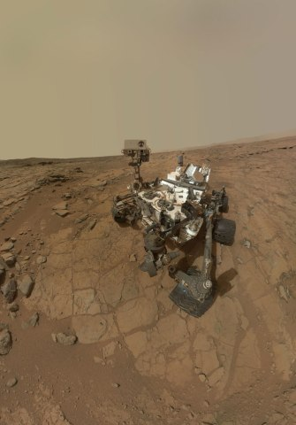 Mars, Curiosity Rover, Feb. 3, 2013.