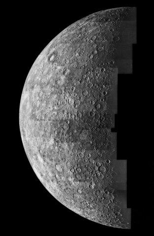 Mercury, Mariner 10, 1974.