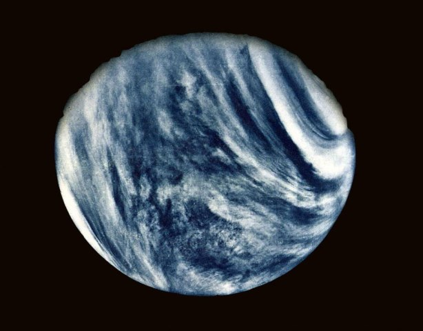 Venus, Mariner 10, Feb. 5, 1974.