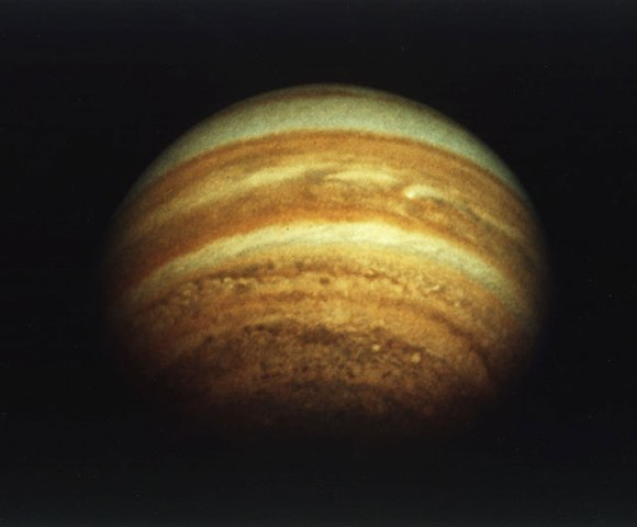 Jupiter, Pioneer 11, Dec. 3, 1974.