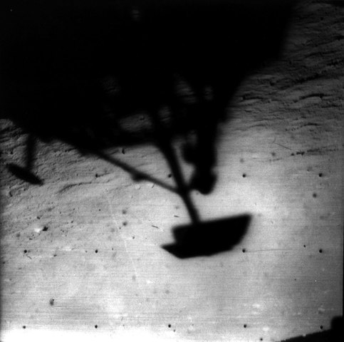 Moon, Surveyor 1, c. June 1966.