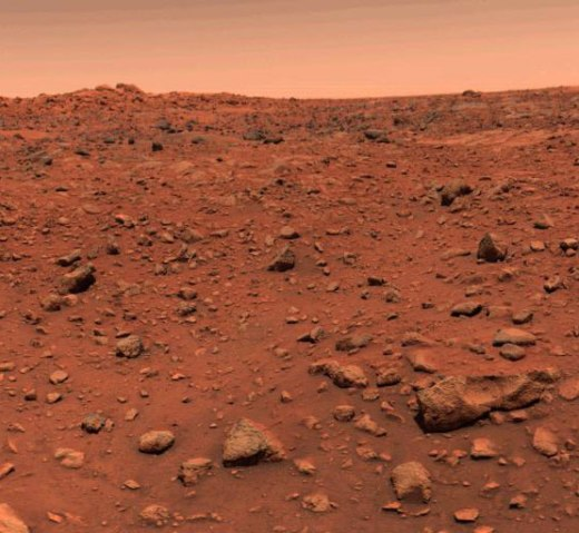 Mars, Viking I, July 21, 1976.