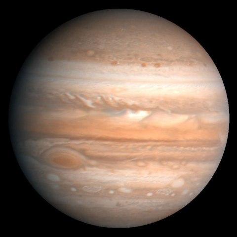 Jupiter, Voyager I, 1979.