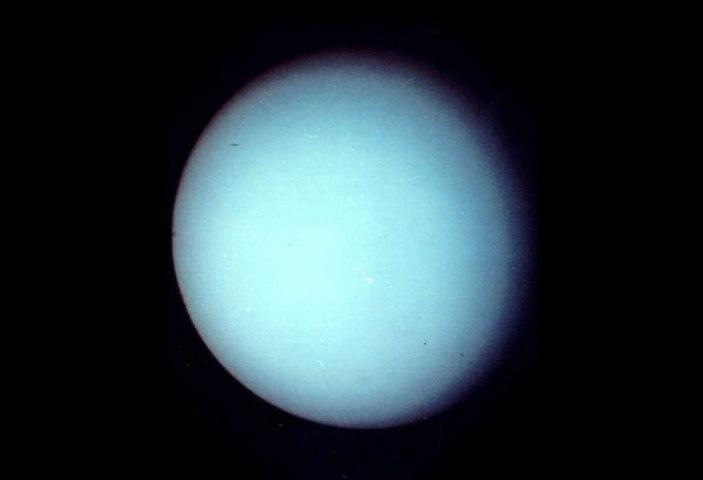 Uranus, Voyager II, Jan. 1986.